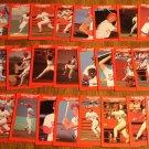 1987 Louisville Redbirds minor league baseball card team set, NM/M, St. Louis Cardinals