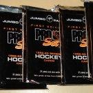 7 JUMBO packs 1992 1993 Pro Set Hockey cards, never opened, MINT 31 cards per pack