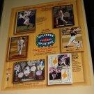 2003 Fleer Splendid Splinters baseball card promo promotional ad sneak preview sheet, NM/M