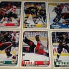 12 cards 1998/99 Upper Deck Choice Hockey sneak peek PREVIEW cards, NM/M