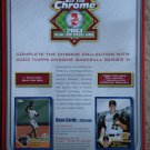 2003 Topps Chrome (series 2) baseball card promo promotional ad sneak preview sheet, NM/M