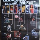 2003 Diamond Select Toys action figures promo ad sneak preview poster, NM/M