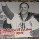 St. Louis Post-Dispatch newspaper Stan Musial death memorial issue ad sheet cover
