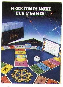 1980's S & R (Selchow & Righter) games catalog, VG, Scrabble, Trivial Pursuit, Mhing, more!