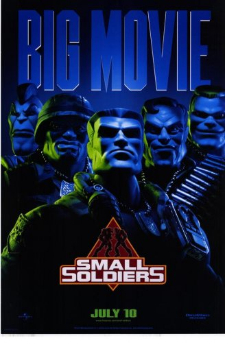 """Small Soldiers movie poster, 27"""" x 40"""" rolled, Gregory Smith, Kirsten Dunst, Frank Langella"""