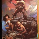 Fire & Ice VHS animated video tape movie film cartoon, Frank Frazetta, Ralph Bakshi