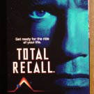 Total Recall VHS video tape movie film, Arnold Schwarzenegger, Sharon Stone, Michael Ironside