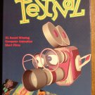 Computer Animation Festival VHS animated video tape movie film cartoon, 21 award winning short films