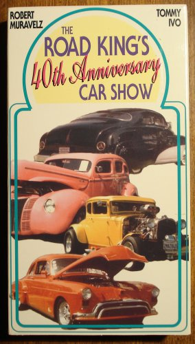 Road Kings 40th Anniversary car show VHS video tape movie film, hot rods, muscle cars, more!