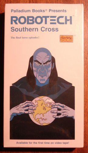 Robotech Southern Cross Vol. 8 VHS animated video tape movie film cartoon, Japanese manga, anime
