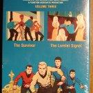 Animated Star Trek Vol. 3 VHS video tape movie film cartoon, William Shatner Leonard Nimoy