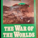 War of the Worlds VHS video tape movie film, classic 1950's original Martian invasion