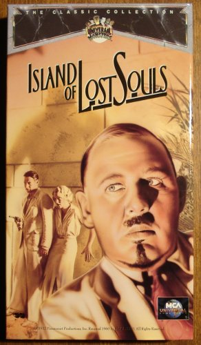 Island of Lost Souls VHS video tape movie film, Charles Laughton, Bela Lugosi