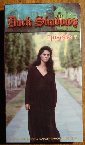 Dark Shadows Episode 7 VHS video tape movie film, Barnabus Collins, TV gothic horror