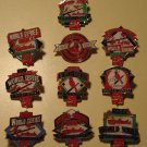 St. Louis Cardinals baseball World Series pins 1926 1931 1934 1942 1944 1946 1964 1967 1982 1992