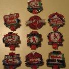 St. Louis Cardinals baseball World Series pins 1926 1931 1934 1942 1944 1946 1964 1967 1982 1992