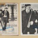 1964 Topps The Beatles trading non-sports cards #21 & 142 Paul McCartney John Lennon Ringo George