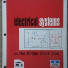 Chrysler Plymouth Dodge Truck Electrical Systems service manual - 1970's
