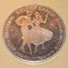 1976 25th Anniversary Square Dance Convention aluminum coin token