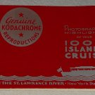 Photographic Highlights of your 1000 Islands Cruise St. Lawrence River New York Canada souvenir book