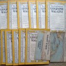 1946 National Geographic Magazine - full entire complete year January  - December - 12 issues