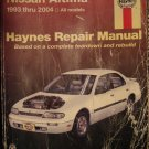 1993 - 2004 Nissan Altima Haynes repair manual 1994 1995 1996 1997 1998 1999 2000 2001 2002 2003