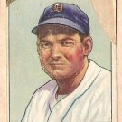 1950 Bowman baseball card #8 George Kell poor Detroit Tigers