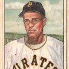 1950 Bowman baseball card #34 Murray Dickson good Pittsburgh Pirates