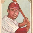1950 Bowman baseball card #30 Eddie Waitkus good Philadelphia Phillies