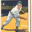 1950 Bowman baseball card #42 Art Houtteman VG (miscut) Detroit Tigers