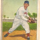 1950 Bowman baseball card #80 Howard Fox G/VG Cincinnati Reds