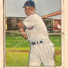 1950 Bowman baseball card #81 Ron Northey fair Cincinnati Reds