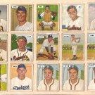 1950 Bowman baseball card #111 (B) Walker Cooper fair/good Boston Braves