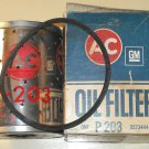 Unused AC P-203 (P203) canister oil filter Mercedes Benz, Porsche, Hudson, Ford Tractor, more
