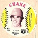 1976 Crane Potato Chips baseball disc card Pete Rose Cincinnati Reds NM/M OC