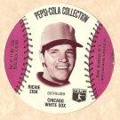 1977 Pepsi - Cola baseball disc card Richie Zisk Chicago White Sox EX/NM