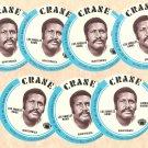 1976 Crane Potato Chips football disc card James Harris Los Angeles Rams NM/M OC 7 cards LOT1