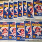 13 packs 1989 Score Baseball card wax packs, never opened, MINT, 16 cards each