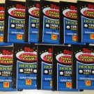 11 packs 1992 Topps Stadium Club Hockey card wax foil packs, never opened - 15 card packs