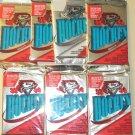 7 packs 1993 1994 1993/94 Topps Premier Hockey card wax packs, never opened - 12 card packs
