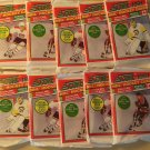 10 packs 1991 Score Hockey card wax packs Series 1, never opened, MINT, 15 cards each