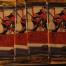 5 packs 1998-1999 Pacific Paramount Hockey card packs, never opened, 1998/99, 6 cards/pack