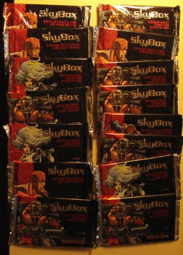 15 packs Skybox Marvel Universe Series IV (4) non-sports cards packs, unopened, 10 cards/pack