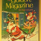 The Golden Magazine For Boys & Girls December 1968 (12/68) Christmas issue, EX condition - COMPLETE!