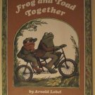 Frog & Toad Together Scholastic children's Softcover book, 1973, Arnold Lobel, great illustrations!