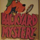 Backyard Mystery softcover children's book by John Howard, 1972, EX condition