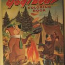 Yogi Bear (& BooBoo & Huckleberry Hound) Coloring book, 1959