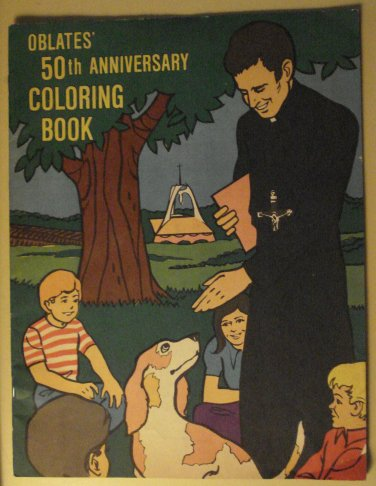 Oblates' 50th Anniversary Coloring Book (1950's? 1960's?), Unused