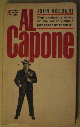 Al Capone paperback non-fiction biography paperback book by Joe Roeburt, 1963