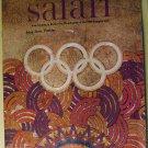 Pontiac Safari magazine brochure), December 1967, Mexico, 1968 Firebird, GTO, Grand Prix